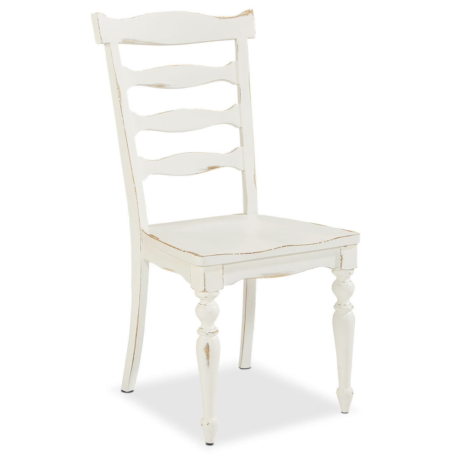 Dining Room Furniture - Set of 2 Ellis Side Chairs - White