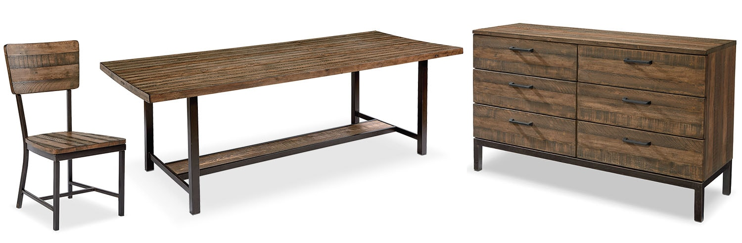 The Industrial Framework Dining Room Collection - Shop Floor