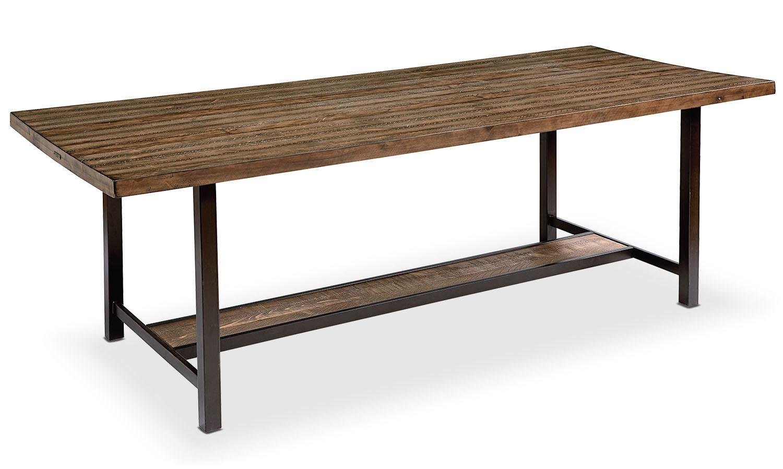 """Dining Room Furniture - Framework 84"""" Dining Table - Shop Floor"""