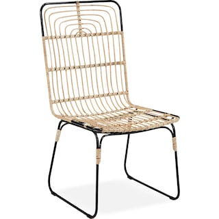 Set of 2 Entwine Rattan Side Chairs