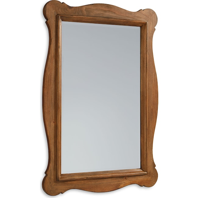 Home Accessories - Curve Mirror - Bench