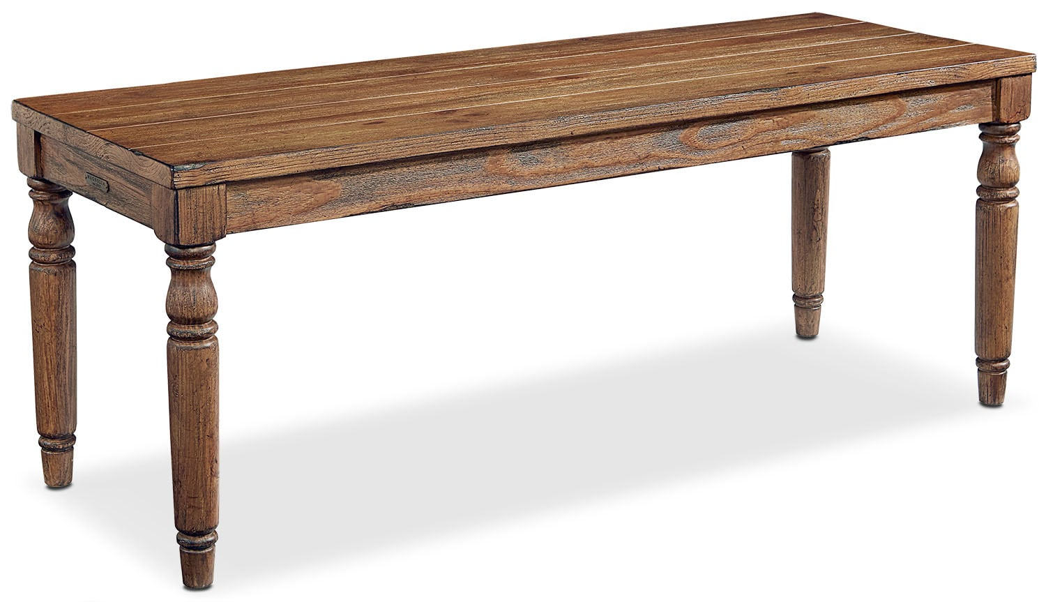 Primitive Taper Turned Bench - Bench