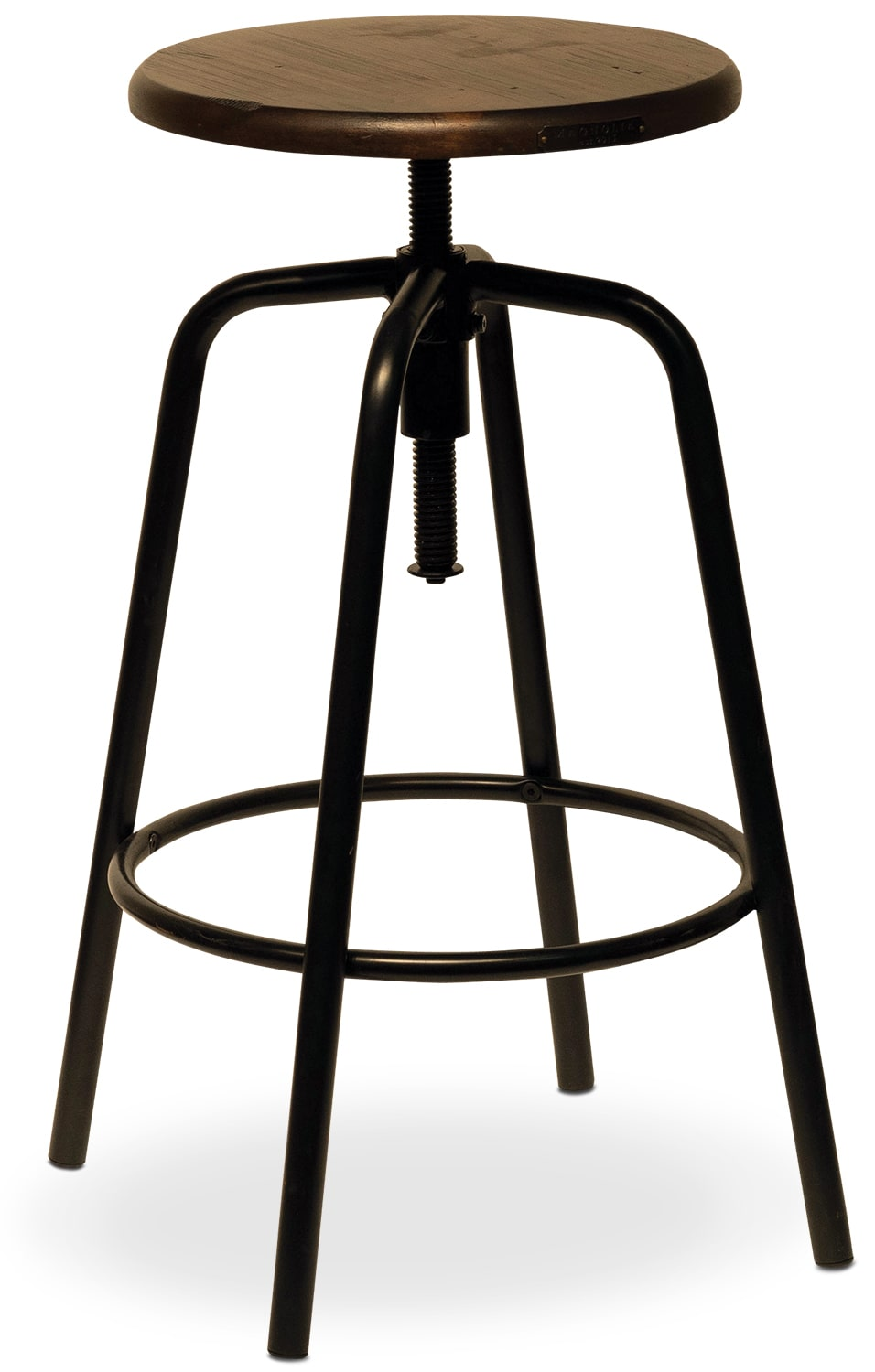 Factory Stool - Blackened Bronze