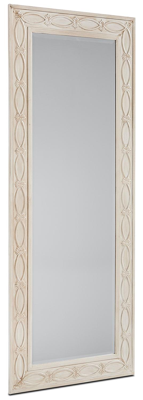 Tall Artisan Mirror - Antique White