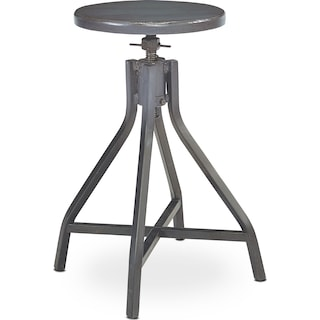 Swivel Stool - French Grey