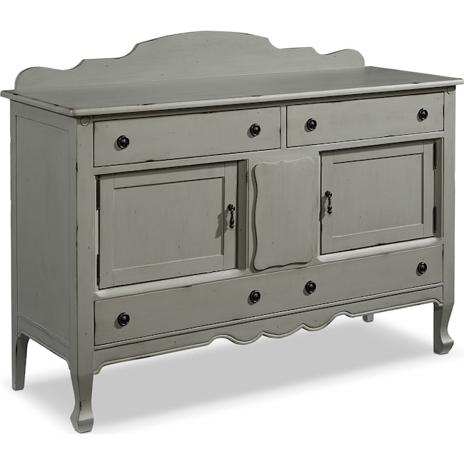 Bedroom Furniture - French-Inspired Silhouette Sideboard