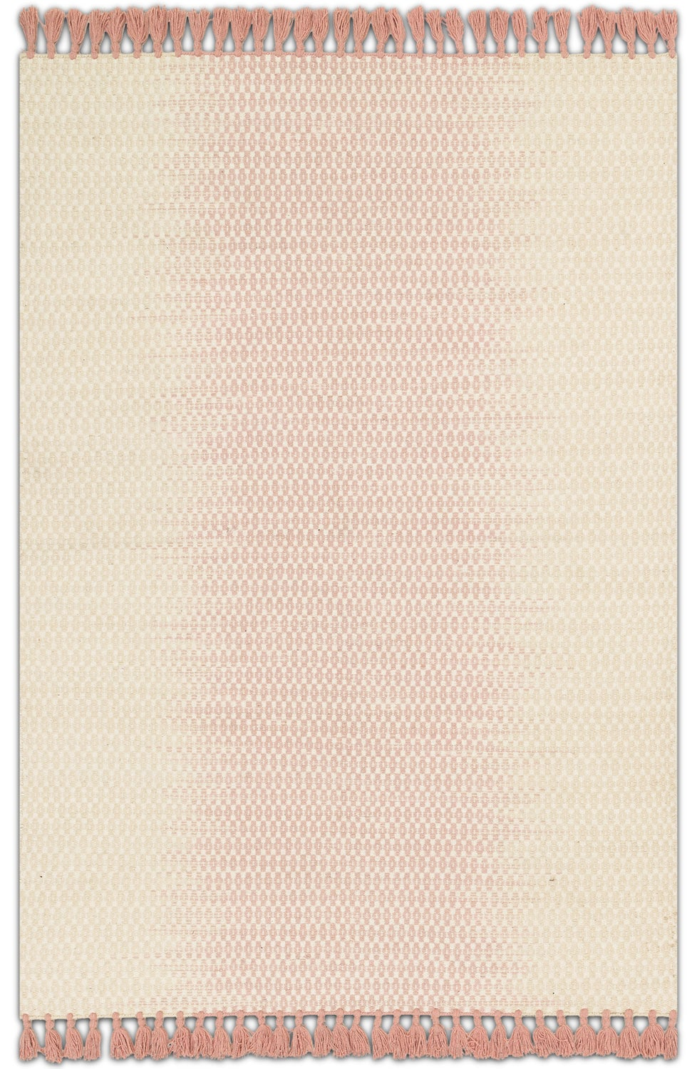 Rugs - Chantilly 4' x 6' Rug - Ivory and Blush