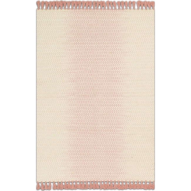 Rugs - Chantilly 8' x 10' Rug - Ivory and Blush