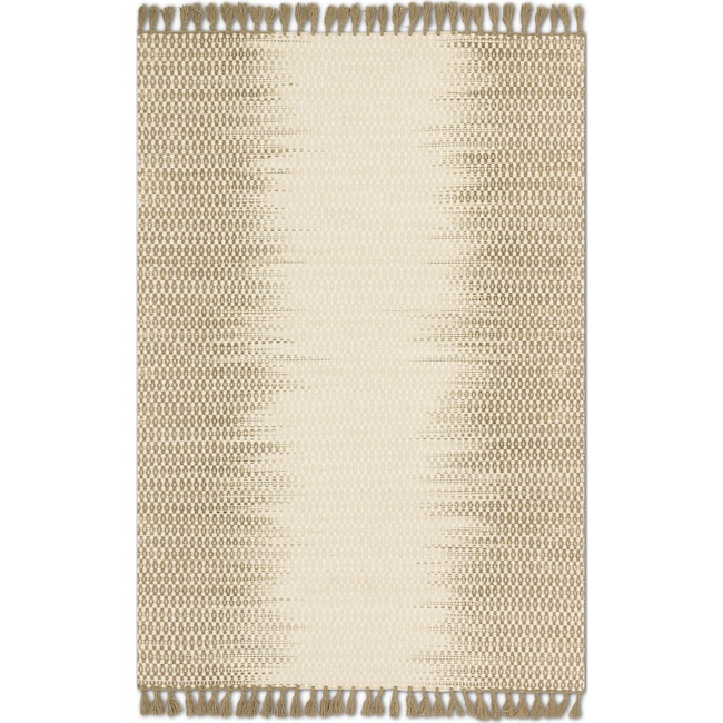 Rugs - Chantilly 5' x 8' Rug - Ivory and Olive