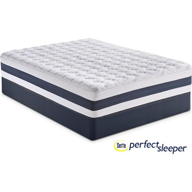 Mattresses and Bedding - Carson Ridge Twin XL Mattress and Low-Profile Foundation Set
