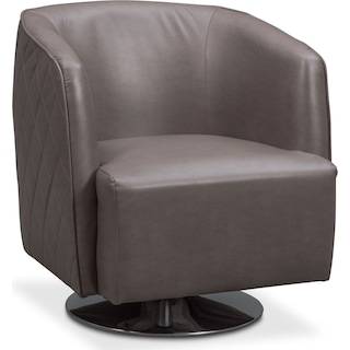 Santana Swivel Chair - Gray