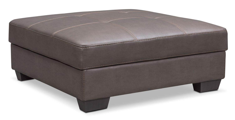 Santana Storage Ottoman - Gray