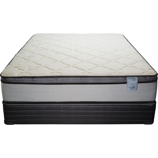 Mattresses and Bedding - Oasis Plush Full Mattress and Foundation Set