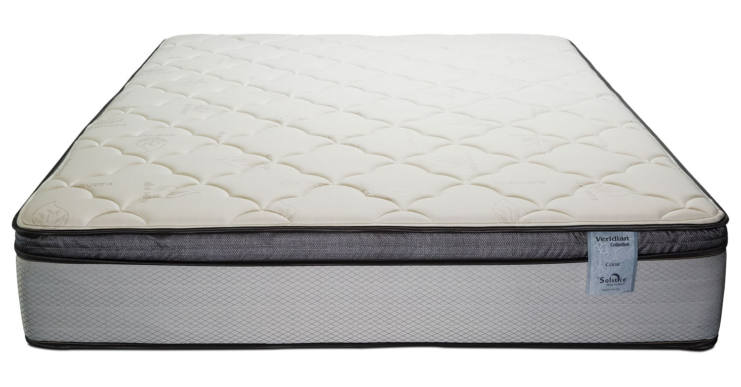 Mattresses and Bedding - Oasis Plush Pillowtop Queen Mattress