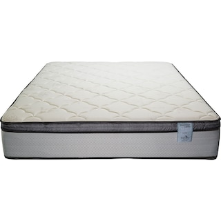 Oasis Plush Pillowtop Queen Mattress