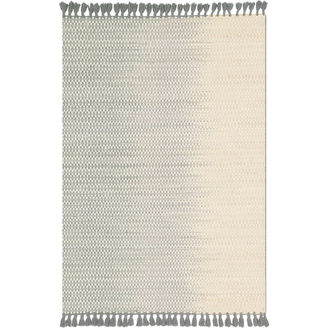 Rugs - Chantilly 8' x 10' Rug - Ivory and Mist
