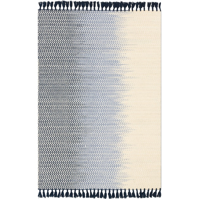 Rugs - Chantilly 8' x 10' Rug - Ivory and Navy