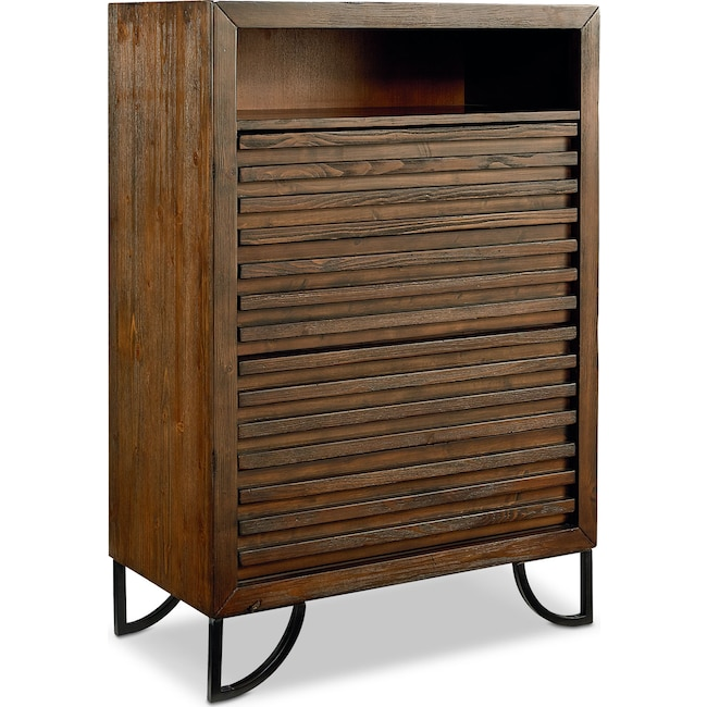 Bedroom Furniture - Stacked Slat Chest