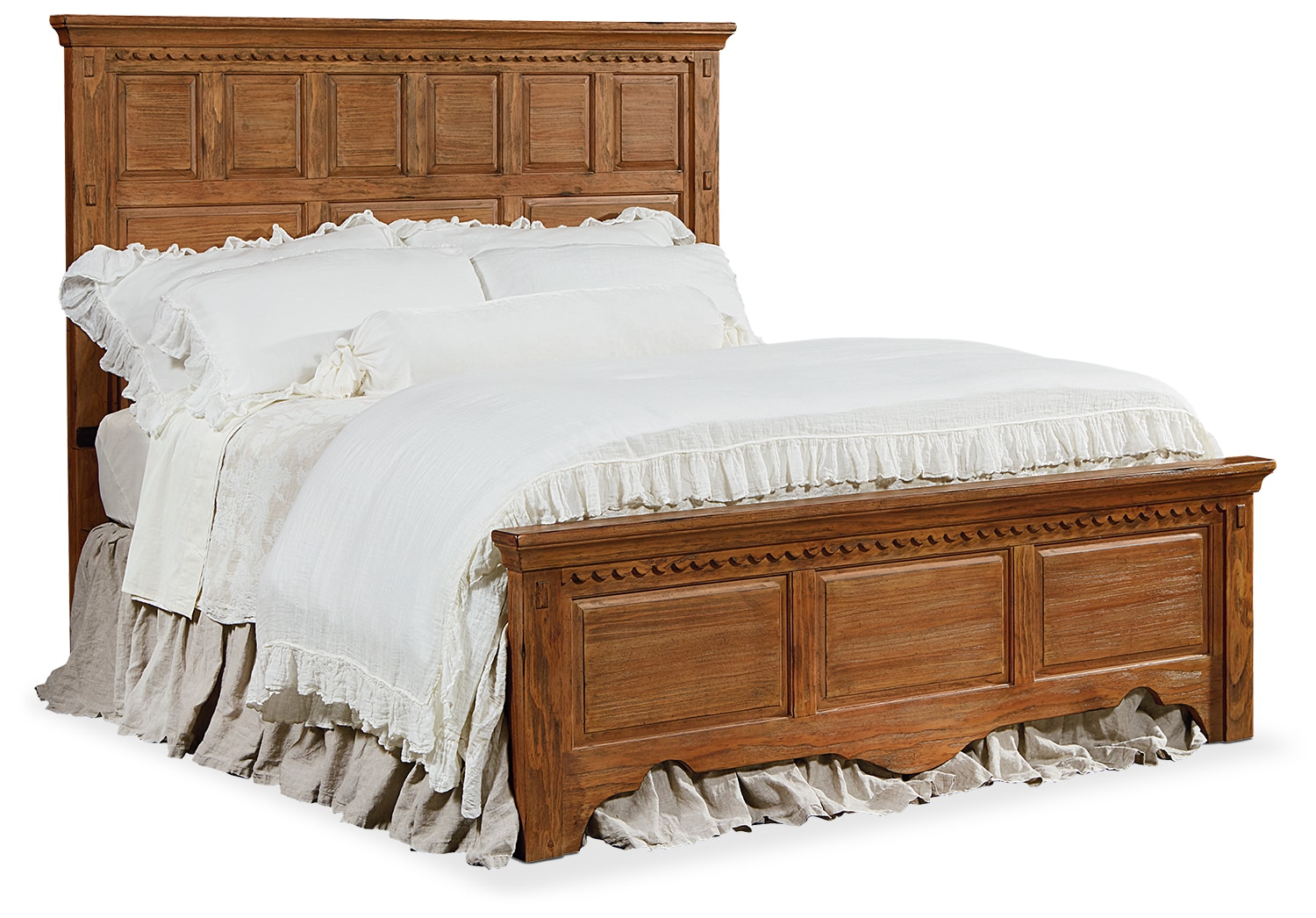 Bedroom Furniture - Queen Mantel Bed