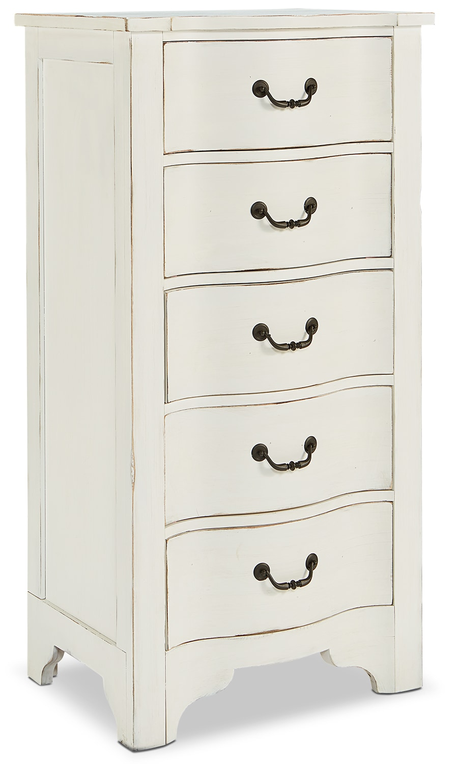 La Grange Demi-Chest - White