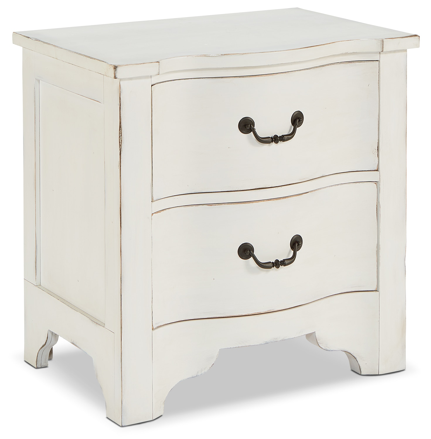 Bedroom Furniture - La Grange Nightstand - White