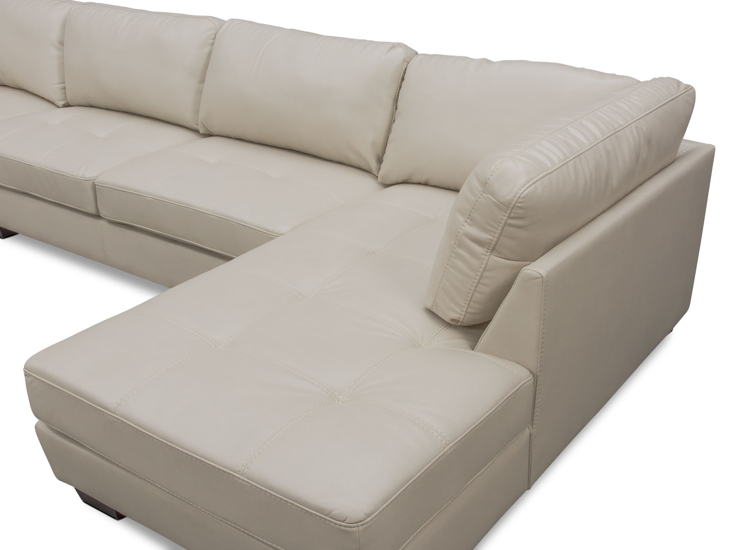 Santana 4 piece sectional with right facing chaise ivory for 4 piece sectional with chaise