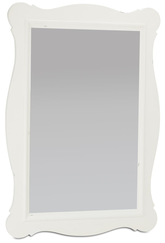 Curve Mirror - White