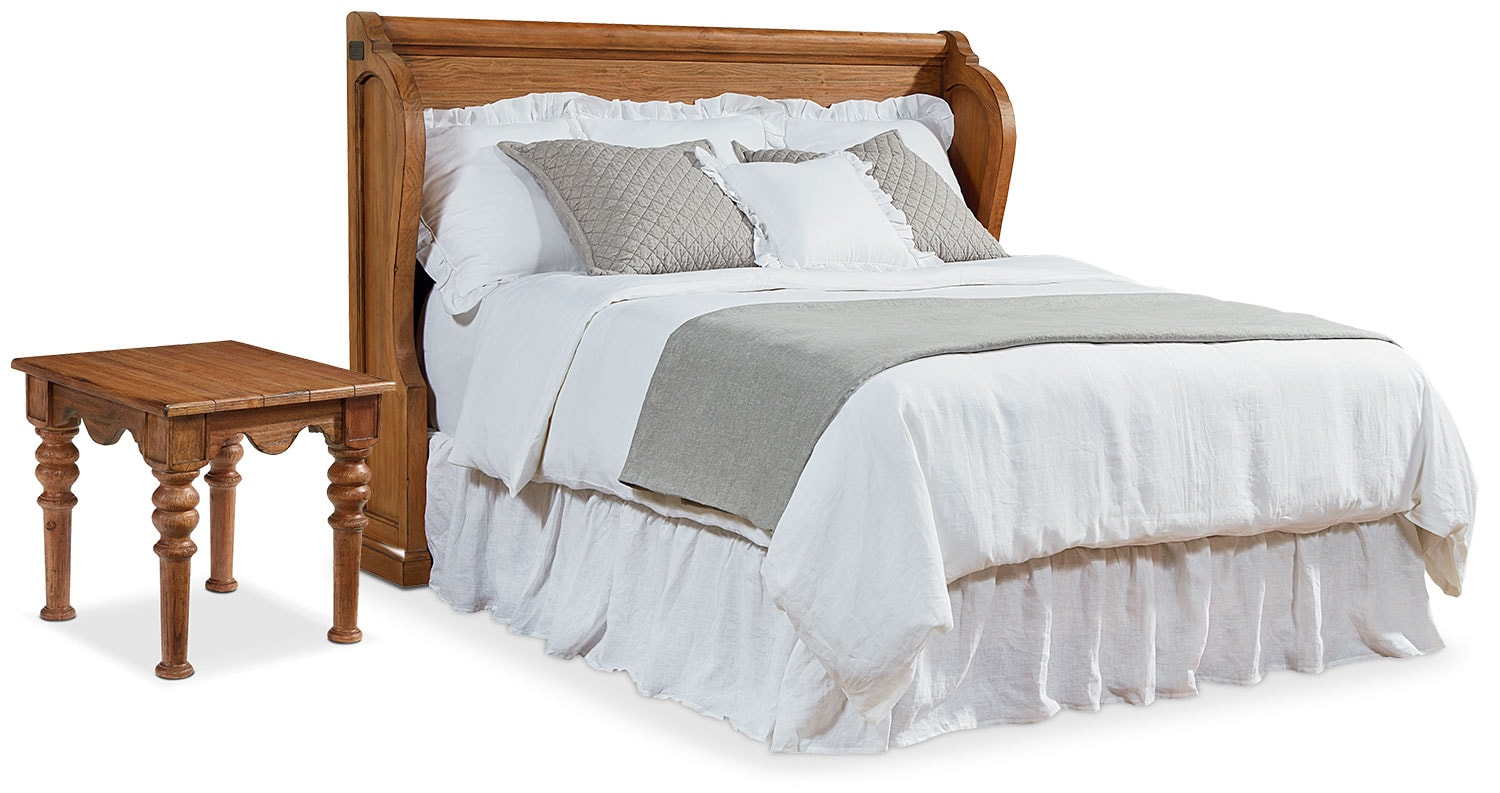 The Farmhouse Church Pew Bedroom Collection - Bench