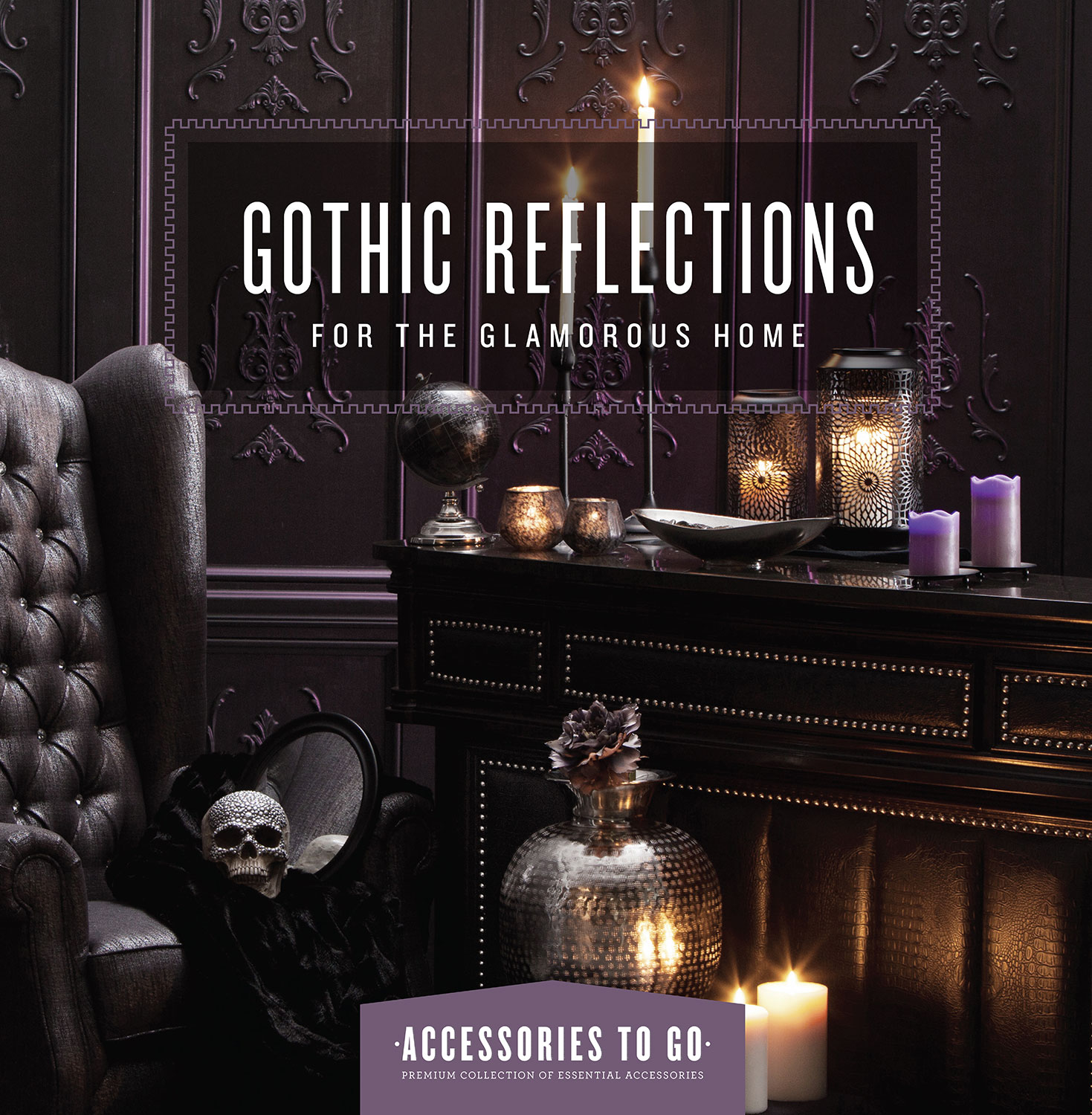 Home Accessories - Gothic Reflections 18-Piece Accessory Set