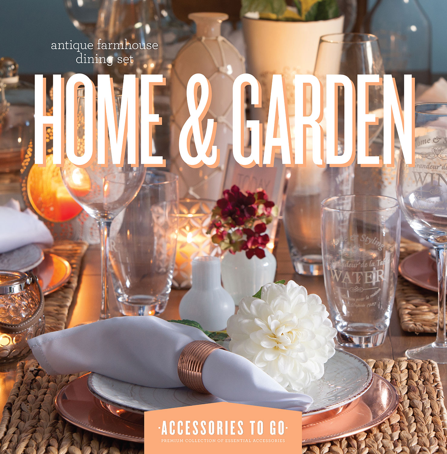 Home Accessories - Home & Garden 63-Piece Accessory Set