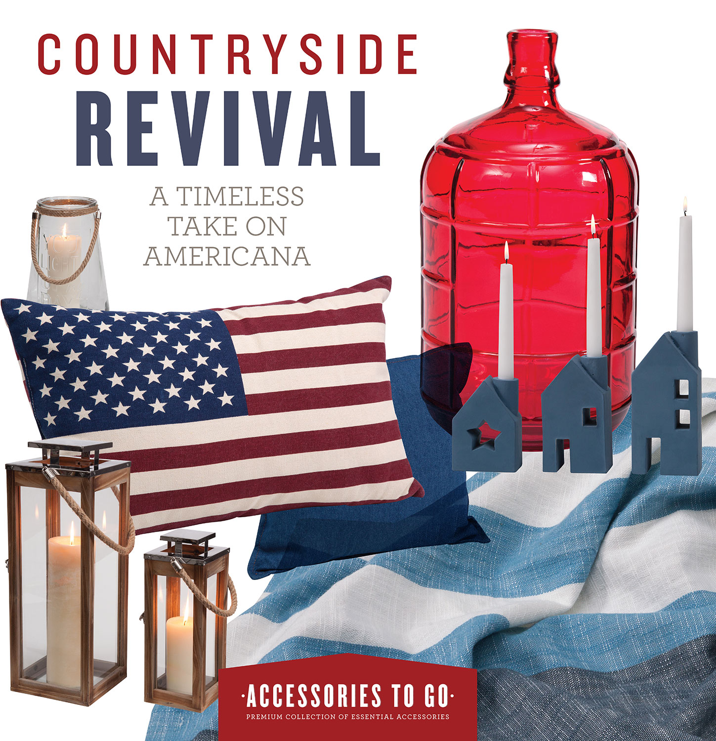 Home Accessories - Countryside Revival 12-Piece Accessory Set