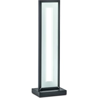 Mod Rectangular Table Lamp - Black