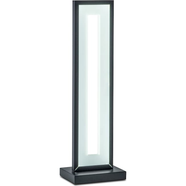 Home Accessories - Mod Rectangular Table Lamp - Black