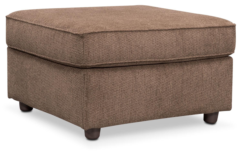 Living Room Furniture - Lakelyn Ottoman - Cocoa