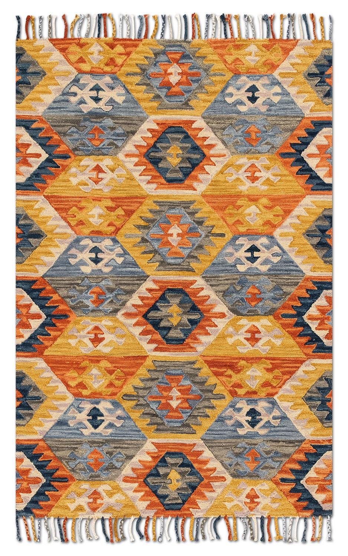 Rugs - Brushstroke 5' x 8' Rug - Santa Fe Spice