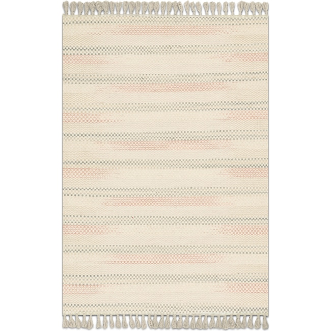 Rugs - Chantilly 4' x 6' Rug - Multi Ivory
