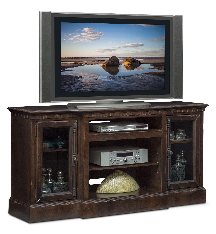 "Entertainment Furniture - Claridge 64"" Media Stand - Tobacco"