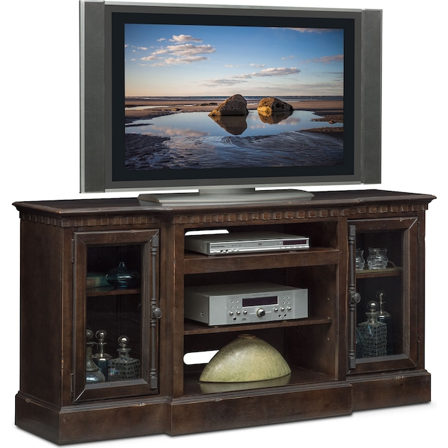 "Entertainment Furniture - Claridge 64"" Media Stand - Tobacco"