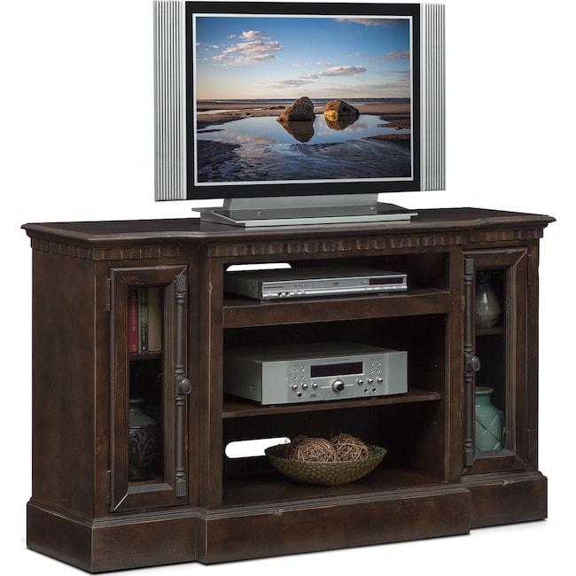 "Entertainment Furniture - Claridge 54"" Media Stand - Tobacco"