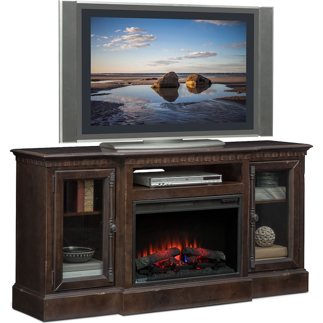 Entertainment Furniture - Claridge Fireplace Media Stand