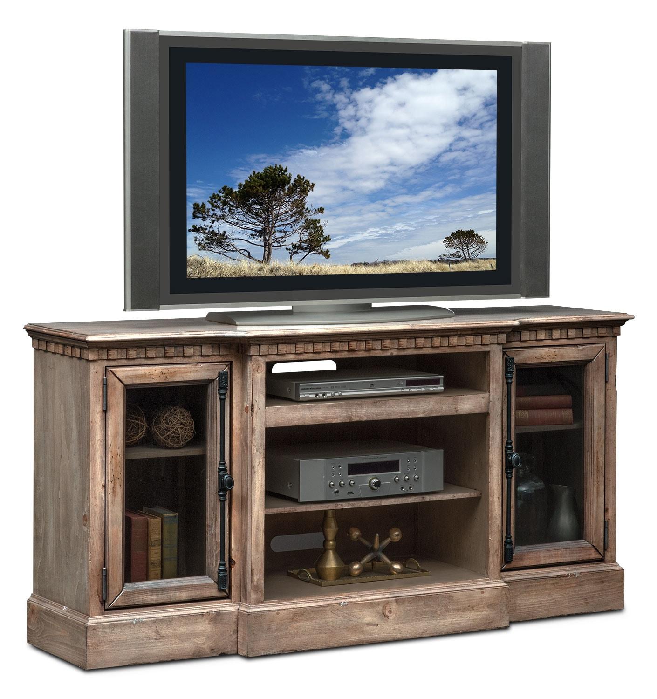 "Entertainment Furniture - Claridge 64"" Media Stand - Gray"