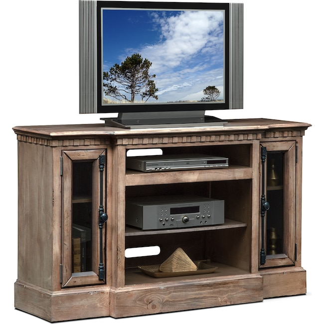 "Entertainment Furniture - Claridge 54"" Media Stand - Gray"