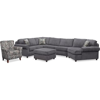 The Lakelyn Collection - Charcoal