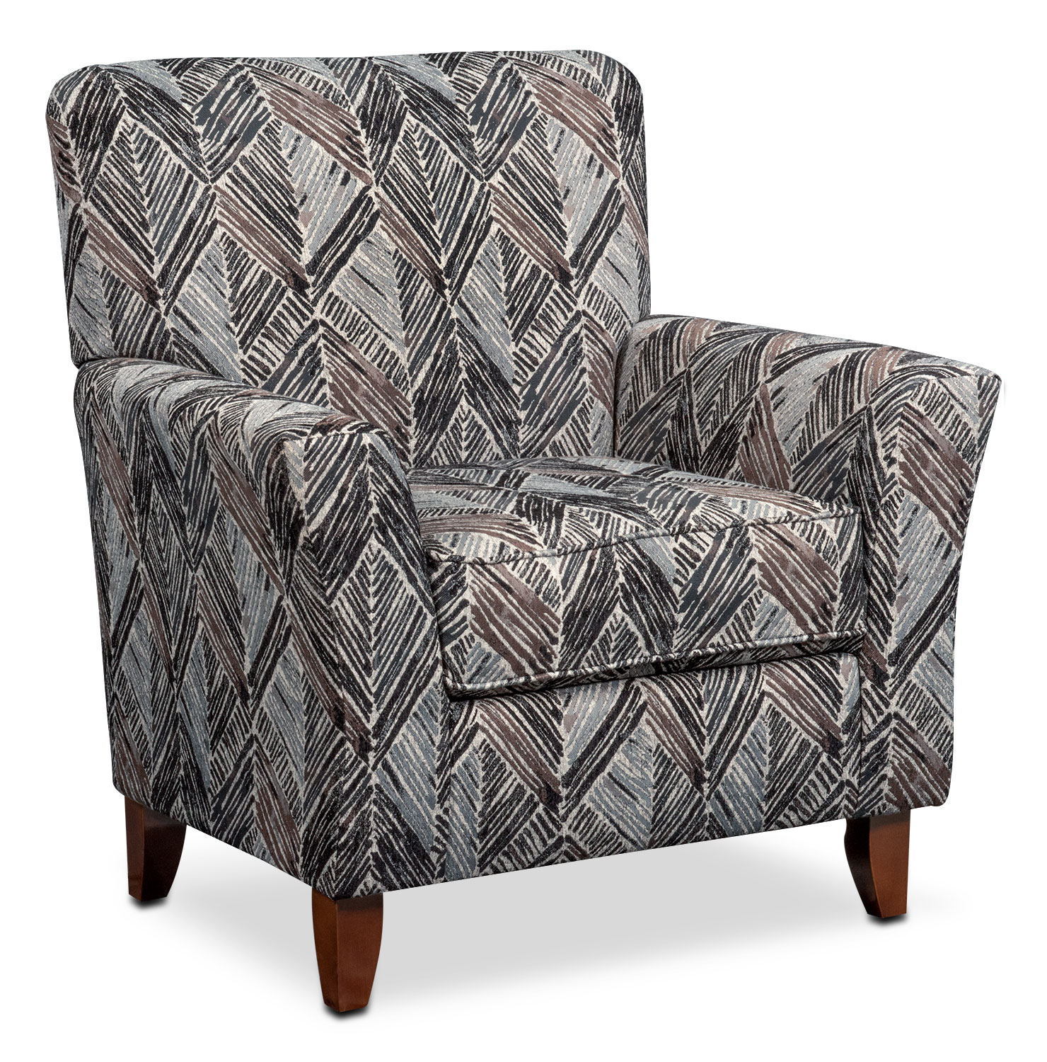 Lakelyn Accent Chair - Charcoal