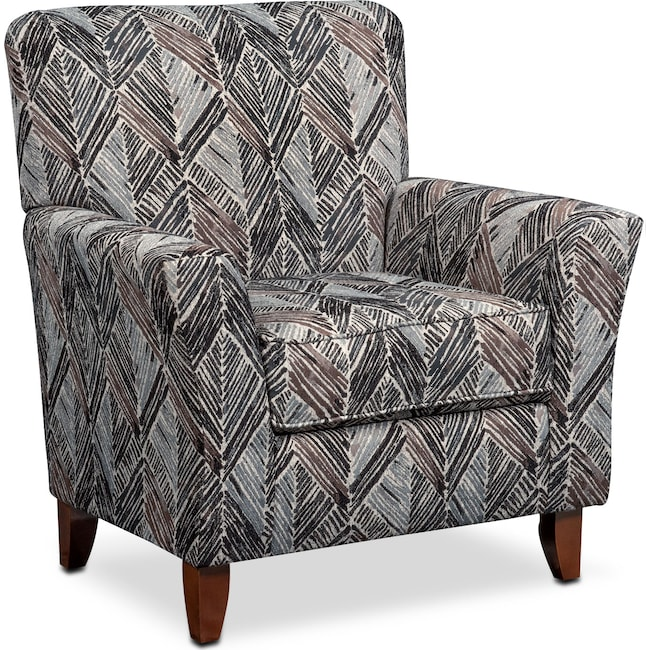 Living Room Furniture - Lakelyn Accent Chair - Charcoal
