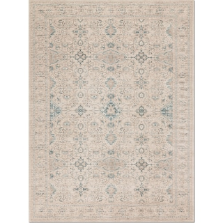 Ella Rose 10' x 13' Rug - Bone