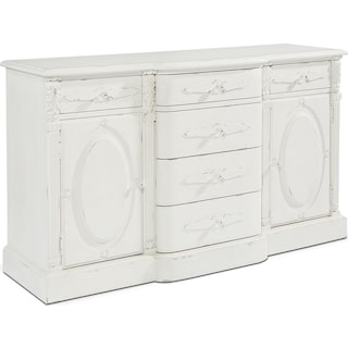 French-Inspired Cameo Buffet