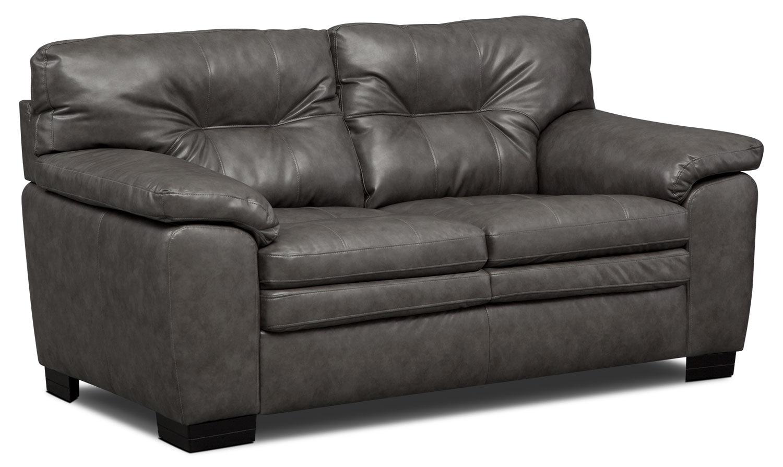 Living Room Furniture - Magnum Loveseat - Gray