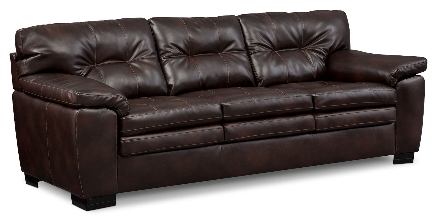 Magnum Sofa Loveseat And Chair Set Brown