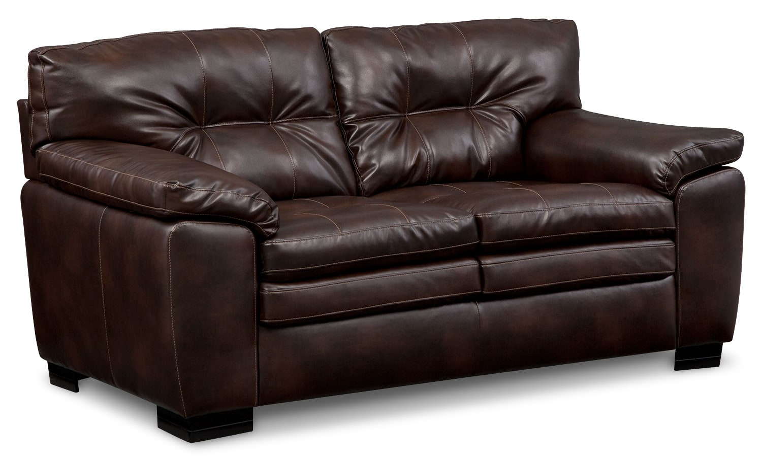 Living Room Furniture - Magnum Loveseat - Brown